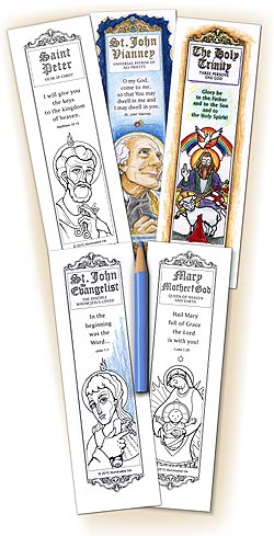 Catholic Bookmarks - Mini