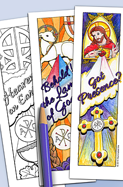 Catholic Bookmarks - Mini - First Communion
