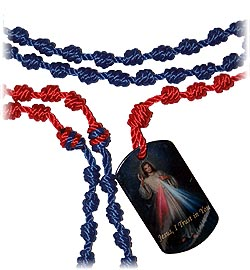 Cord Kit - Dog Tag Chaplet - Divine Mercy