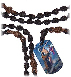 Cord Kit - Dog Tag Chaplet - Franciscan Crown
