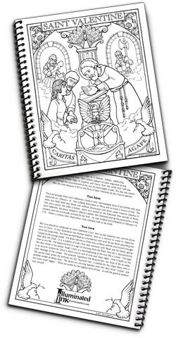 Blank Book - St. Valentine