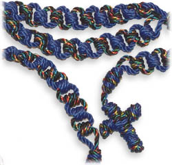 Cord Kit - Ladder Rosary - Blue