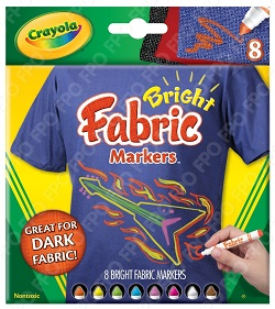 Crayola Bright Fabric Markers