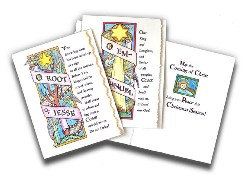 O Antiphon Christmas Card Kit - 12 pack