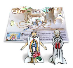 Our Lady of Guadalupe Cut 'n Color Book