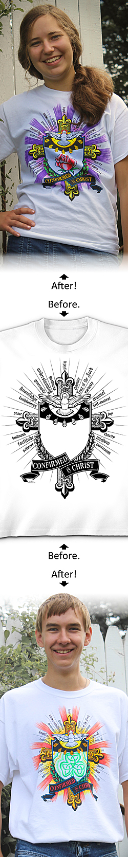 SanctaTee - Confirmed In Christ