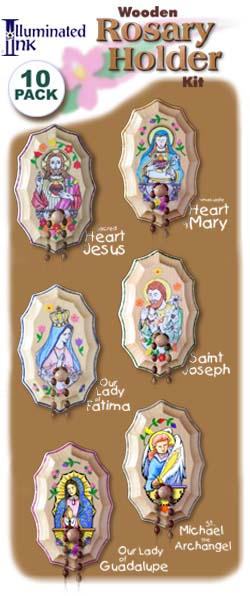 Wooden Rosary Holder - Class pack