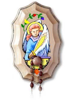 Wooden Rosary Holder Kit - St Michael the Archangel