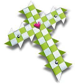 Woven Cross Kit - Green